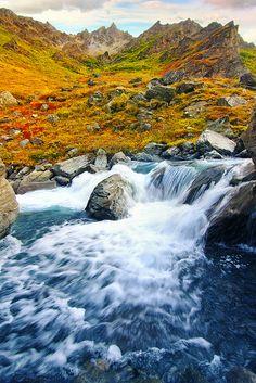 Savage River in Denali National Park, Alaska