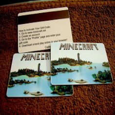 Totally Free Minecraft - Minecraft Premium Card Codes are HERE!