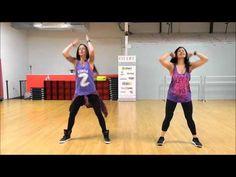 Zumba® with LO - *Get Ugly / Choreo by Catherine Ventresca* - YouTube