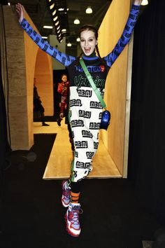 Marc by Marc Jacobs AW14-15 Fashion Show New York Backstage | Sonny Vandevelde