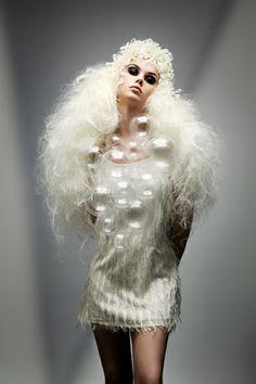 Hair: Joanne O'Neill. Photo: Jim Crone. winner Best Avant Garde Image at irish Hair Photographic Awards