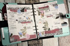 Creative pages by amaryllis775: Filofaxing / Sweet deer