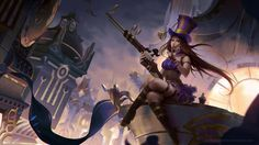Cool collections of caitlyn league of legends wallpapers for desktop laptop and mobiles. Caitlyn league of legends wallpapers. Lol League Of Legends, Cthulhu, Techno, Lol Champions, Arte Fashion, 8k Wallpaper, Special Ops, Anime, Buy Prints