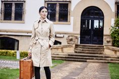 Woman trench coat Style Blackpool from Henry Arroway Spain