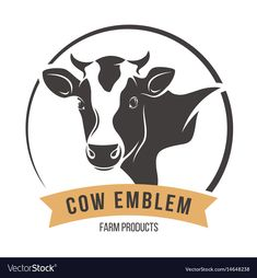 Illustration about Cow head silhouette emblem logo label. Illustration of livestock, beef, element - 91872012 Cow Vector, Free Vector Graphics, Toro Logo, Logos, Cow Head, Cow Shirt, Animal Silhouette, Emblem, Cartoon Drawings