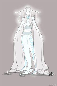 Raava Spirit Drawing, Human Drawing, Legend Of Korra, Avatar The Last Airbender, Comic Art, Drawings, Cosplay Ideas, Naruto, Cartoons
