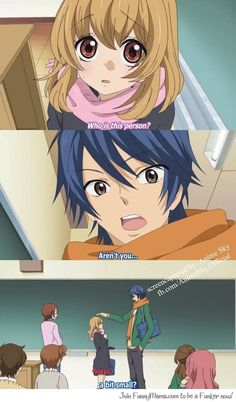 Hiyokoi! One of my most favorite moments <3 Hah unfortunately I'm taller than most guys at my school...