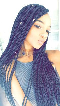 40 Super Chic Senegalese Twist Styles We Love!
