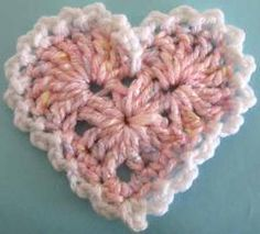 "Click the banners below for more of our most popular patterns, available via mail or download!   LARGE LACY HEART FP410 Easy Skill   Size:About 4½"" wide, 4½"" ta"