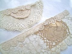 Shabby Bulletin Boards  Adding pockets to a bulletin board is not only useful, but you get to have fun using up bits and pieces of lace an...