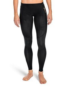 SKINS Women's A400 Compression Long Tights, Black, X-Small