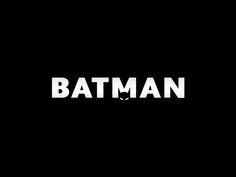 Batman logo on Behance