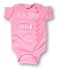 Light Pink  To Do Today  Bodysuit df99b62a3
