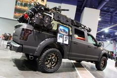 View 01 Operator Ford Sema 2015 - Photo 94271533 from Operator Edition Dominating Road Armor's SEMA 2015 Booth F150 Truck, Jeep Truck, Ford Trucks, Pickup Camping, Truck Camping, Overland Truck, Expedition Vehicle, Bedliner Paint Job, Moab Jeep