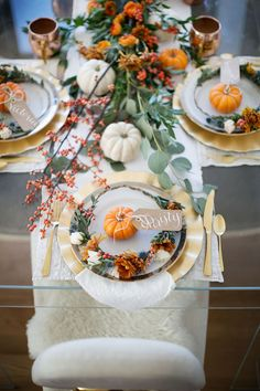 fall tablescape inspo