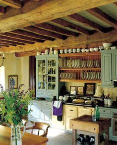 boundersmom: I would only leave this kitchen to sleep. To own an Aga.