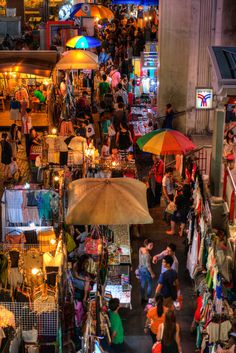 Night Market - Bangkok, Thailand | by Emad Aljumah on Flickr