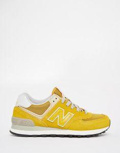 New Balance   New Balance 574 Mustard Sneakers at ASOS