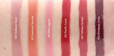 Burt's Bees Gloss Lip Crayon: Review and Swatches