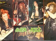 Overkill Band, Long Live, Heavy Metal, Movie Posters, Movies, Heavy Metal Music, Films, Film Poster, Cinema