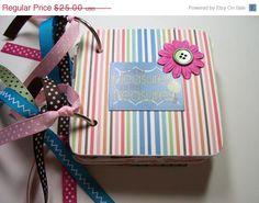 CIJ Family Mini Album Chipboard Scrapbook Family by HampshireRose, $20.00