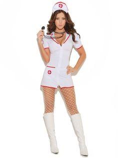 734e04e5bbb23a Halloween Sexy Women's Head Nurse Costume Udanego Halloween, Przebrania Dla  Dorosłych, Pomysły Na Kostiumy