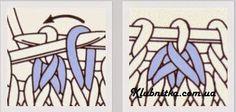"""Шапка и хомут (снуд) спицами узором """"в ёлочку"""" » Клуб-Нитка - вязание спицами и не только"""