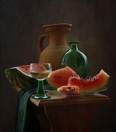 photo:натюрморт с арбузом ▩photographer: inna korobova