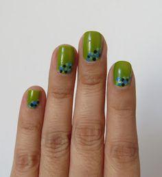 Verde Manzana Polka Dots
