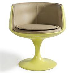 media Cup Chair kids green inspired by Eero-Saarinen