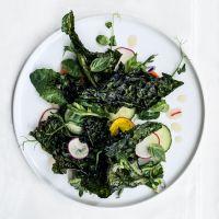 Sautéed Kale with Lime Pickle - Bon Appétit