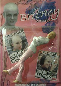 Britney Shaves