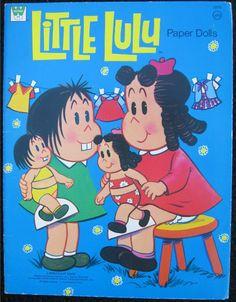 WHITMAN: 1973 Little Lulu Paper Dolls #Vintage #Toys