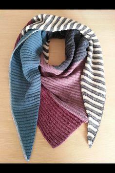 Knitted Shawls, Shawls And Wraps, Knitting, Lana, Fashion, Knitting And Crocheting, Tricot, Knit Shawls, Moda