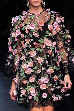 Milan: Dolce & Gabbana Spring 2014
