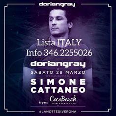 Lista ITALY aperta in cassa fino alle 1.30 per la riduzione  Info 346.2255026