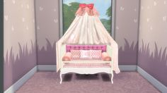 Sims 4 Custom Content Download: Sweet Dreams Nursery Furniture Set (Part-1)