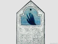 Ciała zmartwychwstanie - statuetka ze szkła artystycznego www.witraze.info