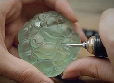 Cartier's video about carving precious & semi-precious stones to be set into…