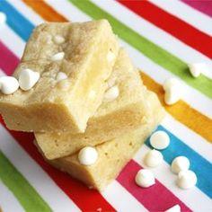 White Chocolate Blondies - Allrecipes.com