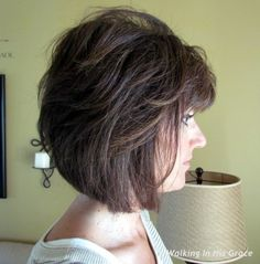 Not sure I care for the bangs at all.. but nice over all length