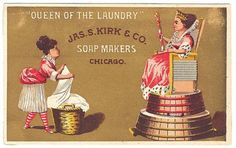 Jas. S Kirk and Company Soap Makers Chicago 1880