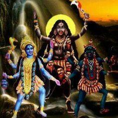 Godess Kali Durga Kali, Kali Hindu, Shiva Shakti, Hindu Art, Jay Maa Kali, Kali Mata, Mother Kali, Divine Mother, Kali Goddess