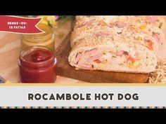 Poder nas mãos: Rocambole Hot Dog - Receitas de Minuto #245