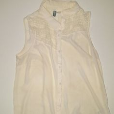 "Divided ""H&M"" Blouse Worn a few times. Still in pretty good condition.  ??????LET'S MAKE a DEAL! !!! ?????? H&M Tops Button Down Shirts"