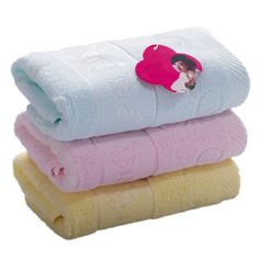 2016 household washcloth yarn cotton towel Soft and comfortable butterfly cotton towel Absorbent Dry Bath Towel