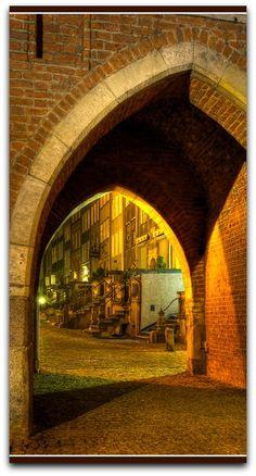 Mariacka Gate & Mariacka Street, Gdansk, Poland