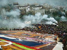 tibetan shoton festival