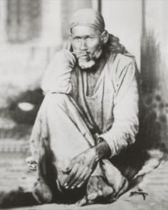Shirdi Sai Baba first real photo