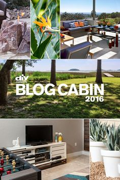 Last round! Help choose design elements for the outdoor spaces. DIY Network Blog Cabin 2016